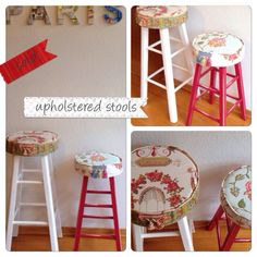 #Upholster stools