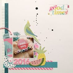 cosmicgirl·scrapper: Good times - materiale PL #1