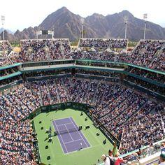 Indian Wells Tennis Garden - BNP Paribas Open - Every March! My favorite tournament of the year.