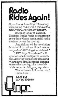 Ad from The New York Times, 1971. (via niemanlab's Josh Benton)