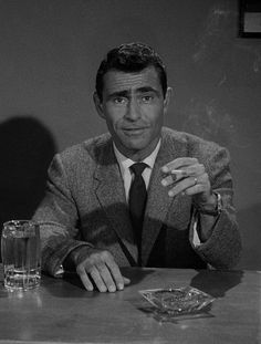 I just want [people] to remember me a hundred years from now. I don't care that they're not able to quote any single line that I've written. But just that they can say, Oh, he was a writer. That';s sufficiently an honored position for me. -Rod Serling (1975, via) Twilight Zone