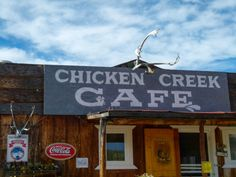Beautiful Downtown Chicken, Alaska. Be sure to buy one of Susan Wiren's baked goods. Her chocolate chip cookies are the best ever. Be sure to include this quirky destination in your Alaska travel plans.