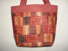 Tote Bag Handcrafted Tablet or Bible Bag Travel Tote Knitting Crocheting Crafts African Print Shopping Bag - pinned by pin4etsy.com