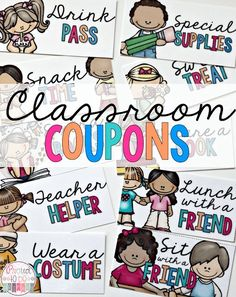 This post is loaded with 30 classroom management ideas for the Kindergarten, primary and elementary classroom! Classroom management tips and tricks for whole brain teaching, alternative seating, bucket fillers, and so much MORE, including a behavior bingo FREEBIE! Click through now to grab the FREE download for your preschool, Kindergarten, 1st, or 2nd grade students. #classroommanagement #BehaviorCoupons