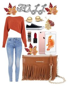"""FALL"" by sare-bear-xxx on Polyvore featuring G-Star, Crea Concept, Rebecca Minkoff, Croft & Barrow, Converse and Urban Decay"