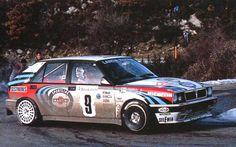 Kankkunen - Piironen - Lancia Delta HF Integrale 16V - Rallye de Monte Carlo (1991) - Automobiles Classiques juin / juillet 1991.