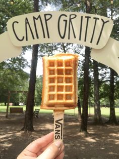 Vans Girls at Camp Gritty | What's Cookin'?  The perfect Camp Gritty breakfast? Waffles of course! There's nothing better than waking up to the smell of freshly cooked waffles before a fun-filled day of creativity and crafts.Luckily, the Vans Girls crew was on site at the campgrounds to cook up vegan & vegetarian waffles for 130 kick-ass campers. Happy National Waffle Day! Are you celebrating by wearing your waffle soles?! We sure are.  Photos by Rachel Clare & the Vans Girls Team