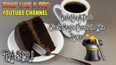 Black Magic Chocolate Cake Recipe Black Magic Chocolate Cake Recipe - BakeLikeAPro TEASER This recipe coming up next week. Whipped Ganache, Chocolate Ganache Frosting, Chocolate Glaze, Magic Chocolate Cake, Chocolate Recipes, Cake Videos, Food Videos, Fudge Recipes, Cake Recipes