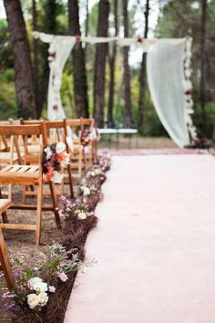 Details of a wedding in the forest