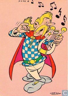 Carte postale - Bande dessinée: Asterix - Assurancetourix, le barde
