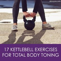 17 Kettlebell Exercises for Total Body Toning, these are so worth trying. Love the kettlebell--it makes for a great, efficient workout. Kettlebell Training, Workout Kettlebell, Kettlebell Challenge, Kettlebell Benefits, Fitness Diet, Health Fitness, Workout Fitness, Workout Body, Group Fitness