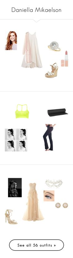 """""""Daniella Mikaelson"""" by hlostgirl ❤ liked on Polyvore featuring BLACK CRANE, WithChic, Charles by Charles David, Rimmel, Allurez, Sweaty Betty, Bodyism, Beckons, Kate Spade and Carvela"""