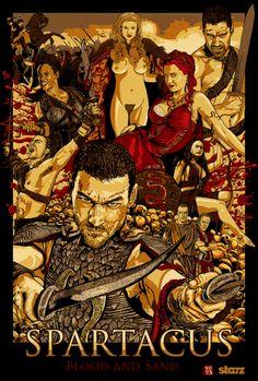 Spartacus: Blood And Sand by wild7even.deviantart.com on @deviantART