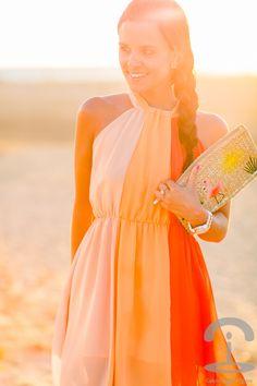 Orange Dress Crimenes de la Moda
