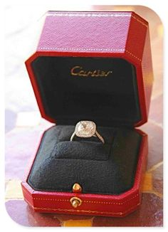 What girl wouldn't love a Cartier ring?