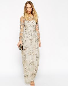 ASOS: Needle & Thread Embellished Garden Scatter Maxi Dress ($544)