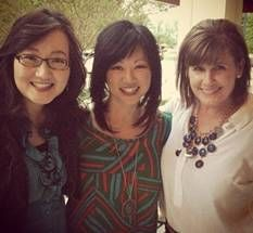 Melanie Chung-Sherman, Carissa Woodwyk, and Amy Curtis at the Christian Alliance for Orphans Summit in Nashville, Tn. Listen..http://tapestryministry.org/listen-2