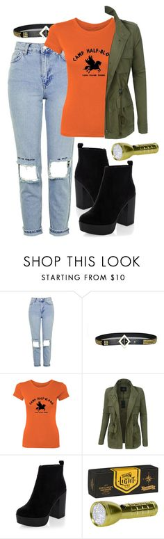 """""""searching the woods"""" by fgshannah ❤ liked on Polyvore featuring Topshop, LE3NO, New Look and Gentlemen's Hardware"""