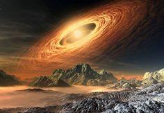 planeta widok kosmos - 60156843