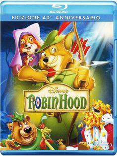Robin Hood (Special Edition 40° Anniversario): Amazon.it: Larry Clemmons, Ken Anderson, Vance Gerry, Frank Thomas, Eric Cleworth, Julius Svendsen, David Michener, Wolfgang Reitherman: Film e TV