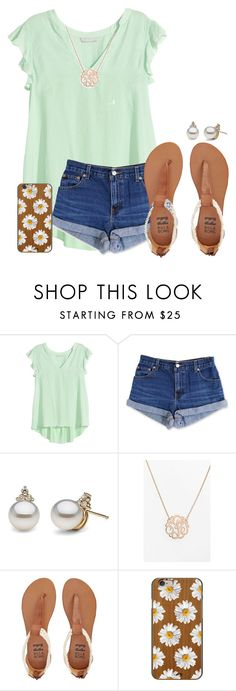 """Thanks so much for 82 followers!! Can I get to 100?"" by haileyhartley ❤ liked on Polyvore featuring H&M, Levi's, Argento Vivo, Billabong and Casetify"