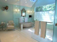 Decoratie Badkamer Muur : 21 beste afbeeldingen van badkamer groen in 2019 toilet decoratie