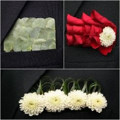 pocket squares | Boutonnieres Vs. Pocket Squares: Which One Will You Choose ...