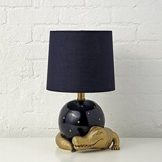 Genevieve Gorder Alligator Table Lamp | Crate and Barrel