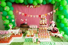 cute woodland themed party