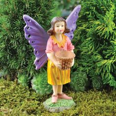 Fairy Figure - Basket