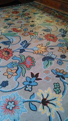 Linoleum Carpet C 1900 House In Upstate New York Rug