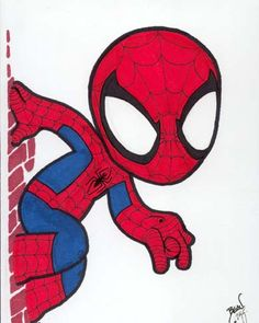 How to Draw Spiderman  Cake Ideas  Pinterest  Spiderman