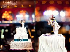 fireman wedding cake topper.