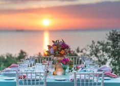 Boho glam ρομαντική διακόσμηση γάμου με τριαντάφυλλα