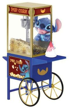 Disney Lilo & Stitch - Stitch Collection: Stitch - Pop Corn (New Version) [33186] by Dragon. $30.99. Disney's Stitch is well adored for its resemblence of a mutant koala, short tempered and mischievous behavior who is adopted as a puppy dog by his dear friend Lola.  Dragon's latest Disney licensed product of Stitch is designed by mimo's creative team which work closely with Disney measuring up to their sizes, appearances and standards.  The deluxe stitch set comes w...