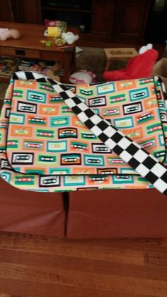 Totally Awesome 80s diaper bag