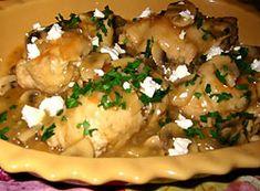 Przepis na Greckie roladki - MniamMniam.com Feta, Chicken, Cubs