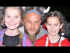 Travis Fimmel the ambassador for the Irish children's cancer in the Big Viking Picnic - YouTube