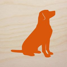 Labrador Retriever Art Block version 2  by MillerSyeShadows