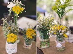 Paleta de cores para casamento: Amarelo + Branco | http://www.blogdocasamento.com.br