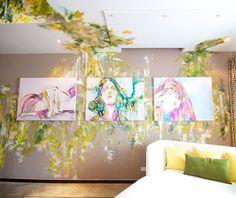 HOTEL TANTALO PANAMÁ y su atmósfera artística en habitaciones con el Artista Geo Orga