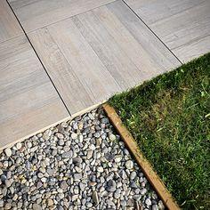 Exterior self-laying floor tile Icon Outdoor by Casa dolce casa Outdoor Tiles Floor, Wood Look Tile Floor, Outdoor Pavers, Wood Effect Tiles, Patio Slabs, Outdoor Flooring, Terrace Tiles, Outside Flooring, Entry Tile