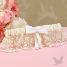 Vintage Charm Wedding Garter