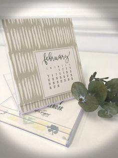 2017 Desktop Calendar from Art Paper Scissors $15.00