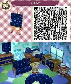 Space/Star pattern for animal crossing new leaf (acne