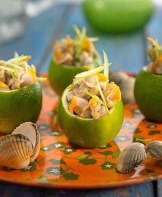 Copa de berberechos con lima | Delicooks | Good Food Good Life