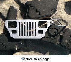Jeep YJ Grill Keychain