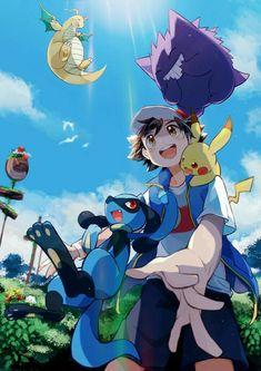 Pokemon Show, Pokemon Alola, Pikachu, Play Pokemon, Pokemon Funny, Kingdom Hearts, Satoshi Pokemon, Equipe Pokemon, Best Pokemon Ever