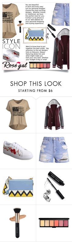 """""""Rosegal 53"""" by maidaa12 ❤ liked on Polyvore featuring Prada and Bobbi Brown Cosmetics"""