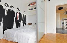 Room divider for studio